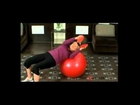 Oblique Twists on Stability Ball with Medicine Ball - Fitness Republic