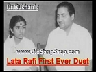 Shadi se Pehle 1947 - First Ever Duet of Rafi Sahab with Lata