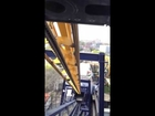 Six Flags Chicago - Batman: The Ride BACKWARDS - first row - POV