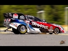 RC ADVENTURES - CRASHING a FORD Mustang NHRA Funny Car Race Replica - 1/8 Scale: TRAXXAS