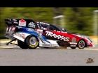 RC ADVENTURES - CRASHING a FORD Mustang NHRA Funny Car Race Replica - 1/8 Scale: TRAXXAS