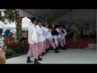 Folk Dance Group WAWEL perform a Polish dance Rzeszowiak at Dozynki Harvest Festival in Houston