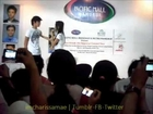 Kathniel singing LUCKY @Pacific Mall Mandaue, Cebu
