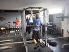 Weighted Chinups +40kg