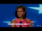 Michelle Obama DNC Speech 2012 Complete: 'How Hard You Work' More Important Than Income