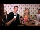 Chris Evans Scarlett Johansson Comic Con 2013 Exclusive Interview