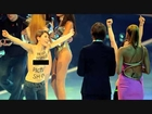 Heidi Klum Protested By Topless Women On 'Germany's Next Top Model' Final