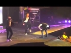 Justin Bieber Puking On Stage During Performance !!!