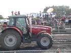 Massey Ferguson 7465 pulling Honfleur 2012 part 1