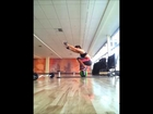 Medicine Ball Core and Balance Workout @ GYM.(Rachel Ann Courtney)