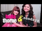 Behind the scenes of the Bella & Zendaya FM12 Cover Shoot