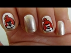 Nail Art Tutorial For Beginners - Angry Bird