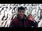 Anton Ewald hälsar till sina fans - Melodifestivalen 2013