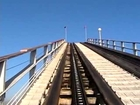 Colossus Roller Coaster  POV Six Flags Magic Mountain