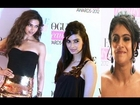 Deepika Padukone, Diana Penty & Kajol@Vogue Beauty Awards 2012