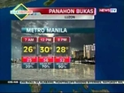 QRT: GMA Weather Update as of 5:48PM (September 17, 2012)