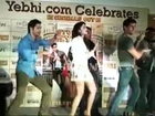 Student of The Year's Star Cast are Dancing On The Stage- The Disco Deewane...Student Of The Year