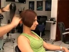 Women sexy short BOB haircut Part 6