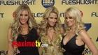 2013 XBIZ Awards ARRIVALS Alexis Texas, Kayden Kross, Jessica Drake, Vicky Vette